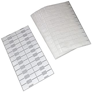 1000 Pieces White + 24 Pieces Gold and Silver Jewelry Repair, Price and Indentification Tags/Tyvek Self Adhesive Rectangul...