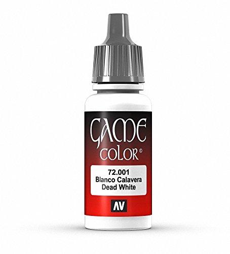 Vallejo Game Color - Colore Acrilico, 17 ml, Bianco (Skull White)