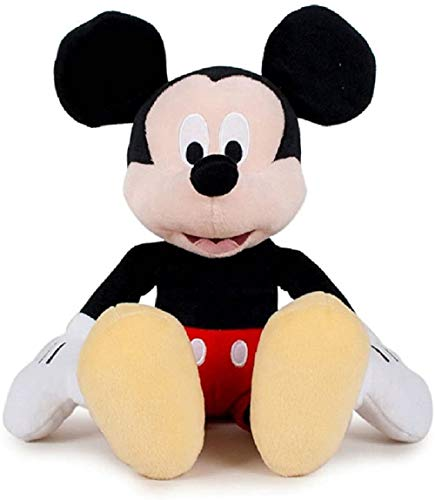 Disney Mickey Mouse 30 cm Pupazzo Peluche Super Soft Mouse Junior