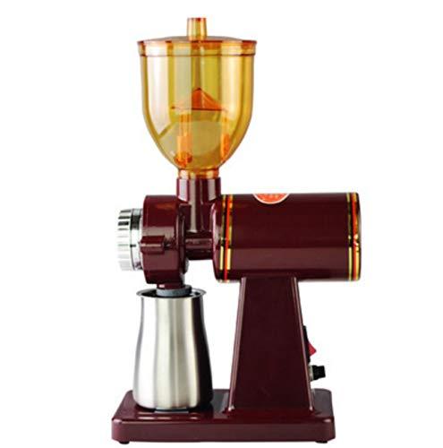 Huaishu Home koffieslijper elektrische koffiebonen slijper 110 V/220 V, rood, 110 V