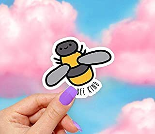Bee Kind Vinyl Sticker - for Laptops, Water Bottles and Windows