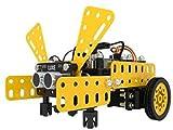 miwaimao Micro:Bit Roboter Fernbedienung Codierung Lernset Intelligentes DIY Hindernisvermeidung Tracking Funktionen Spielzeug Auto
