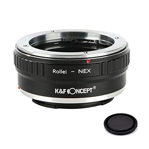 K&F Concept Lens Adapter Ring Rollei QBM to Sony E Mount a6000 a6300 a6500 a5000 a5100 a3500 a3000 Alpha A7 A7R a7S a7II a7RII a7SII a7III a7RIII and a9