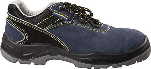 Zapatos de Seguridad S1P Cruz y Tela Talla 45