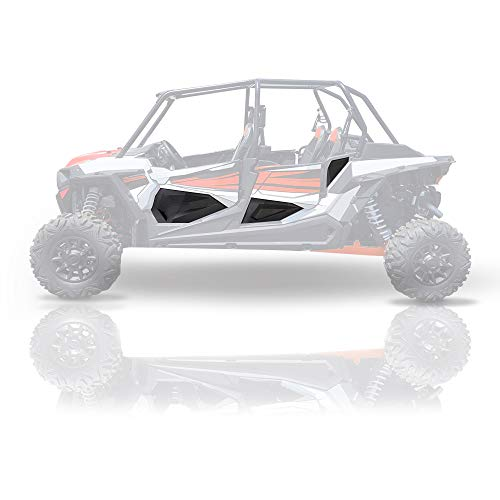 RZR XP4 Lower Doors Plastic Panels, kemimoto Lower Doors Panels with Metal Tube Frame Compatible...