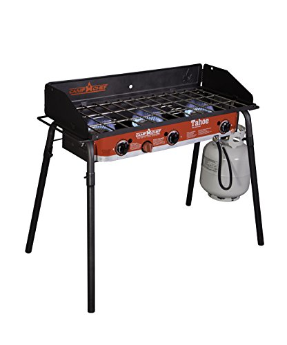 Camp Chef Tahoe Triple Burner Stove Camp Chef Features Grills Home Kitchen Outdoor Propane Recreation