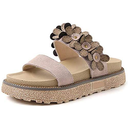 Dames Zomer open sandalen Casual strand Romeinse gladiator Dikke zolen