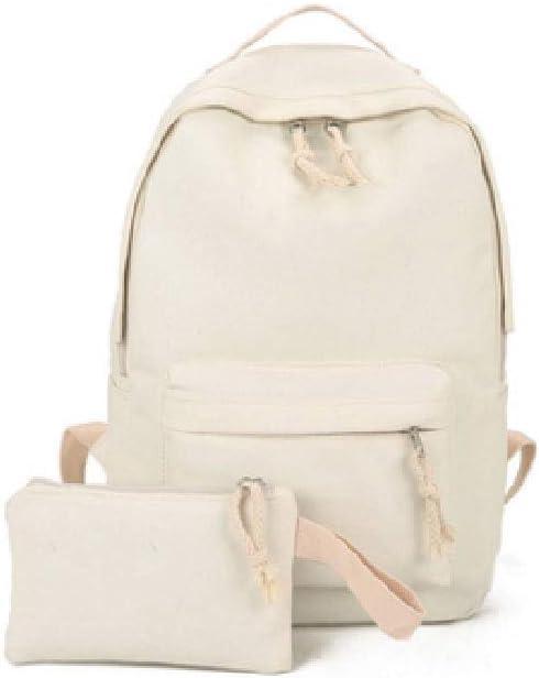 DPPZM Exquisite Canvas Preppy Shoulder Bookbags Max 81% Under blast sales OFF School Ba Travel