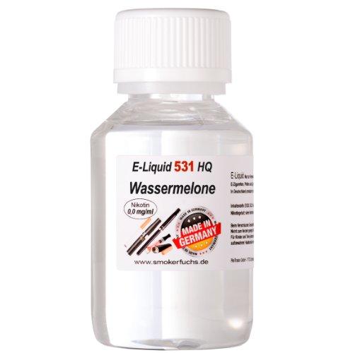 100ml E-Liquid No. 531 HQ - WASSERMELONE - MADE in GERMANY - 0,0 mg Nikotin von Smokerfuchs®