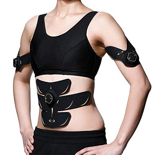 RIZAP ライザップ EMS 腹筋ベルト [3D Shaper] ベーシックセット (3D Core ×1 3D Spot ×2) 腹筋 振動 腕...