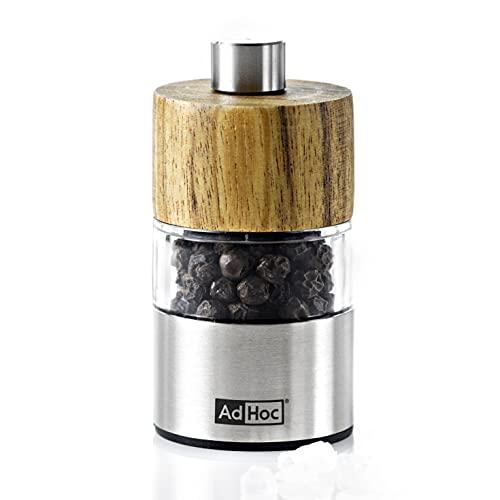 AdHoc MP32 Pfeffermühle oder Salzmühle DAVID mit Keramikmahlwerk (ohne Gewürz)
