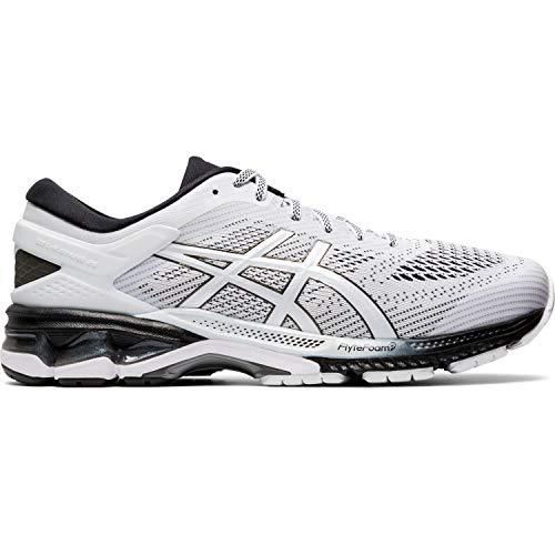 Asics Gel-kayano 26, Men's Running Shoes, White / Black, 6 UK (40 EU)