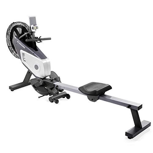 MaxKare Dual Belt Dynamic Air Resistance Rowing Machine