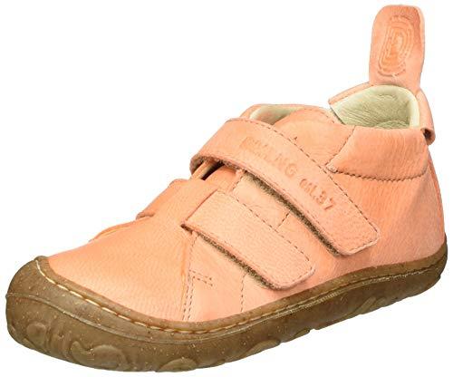 Däumling Baby-Mädchen Nedal Sneaker, Pink (Waxy Lachs 05), 25 EU
