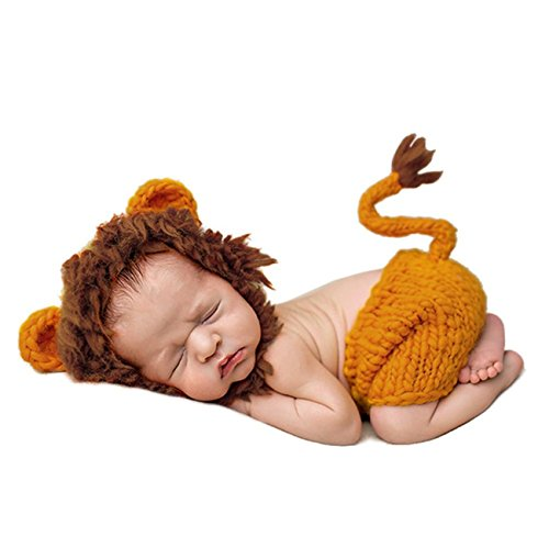 THEE Disfraz de Fotografía de León Bebé Recién Nacido