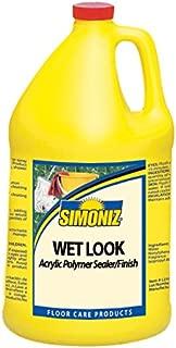 Simoniz CS0740004 Wet Look Floor Sealer and Finish, 1 gal Bottles per Case (Pack of 4)