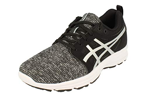 Asics Gel-Torrance Mujeres Running Trainers 1022A046 Sneakers Zapatos (UK 8 US 10 EU 42, Black Silver 011)