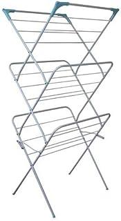 comprar comparacion Home and dry - Tendedero plegable de 3 niveles, acero, interior;exterior
