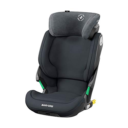 Maxi-Cosi Kore i-Size Kindersitz, mitwachsender Gruppe 2/3 Autositz mit ISOFIX (15-36 kg), Kinderautositz mit maximalem Seitenaufprallschutz, nutzbar ab ca. 3, 5 Jahre bis 12 Jahre, authentic graphite