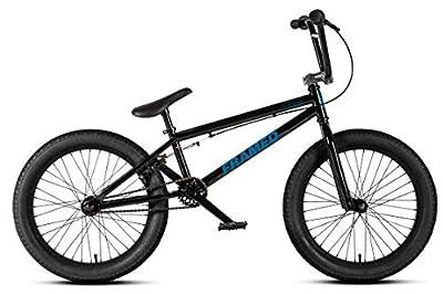 Framed Team BMX Bike Black/Blue Sz 20in
