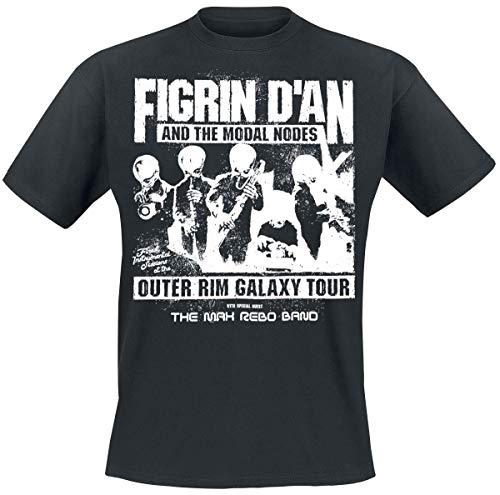 Star Wars Cantina Band - Outer Rim Galaxy Tour Männer T-Shirt schwarz XL