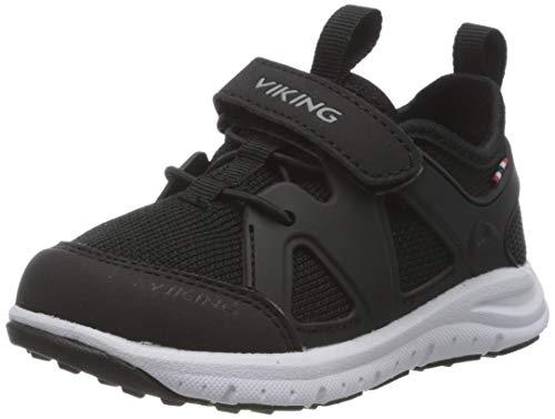 viking Unisex-Kinder Moholt Hohe Sneaker, Schwarz (Black/Grey 203), 26 EU