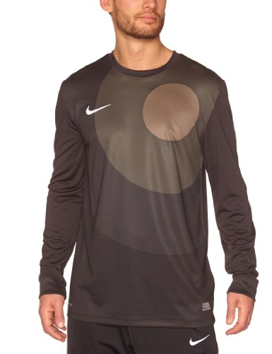 NIKE Herren Torwarttrikot Long Sleeve Park IV Goal Keeper Jersey, Black/smoke/white, S, 448226