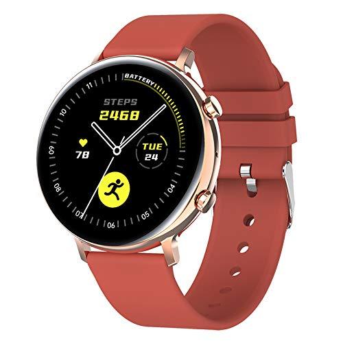 MERIGLARE Reloj Inteligente Multifunción para Hombres, Música, Deportes, Impermeable, Bluetooth, Llamada, Rastreador de Ejercicios, Pantalla Táctil Completa de - Red