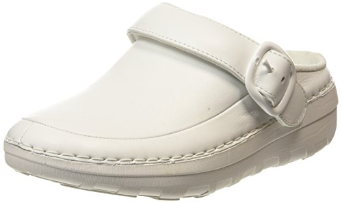 Fitflop Damen Gogh Pro Superlight Clogs, White (Urban White 194), 38 EU