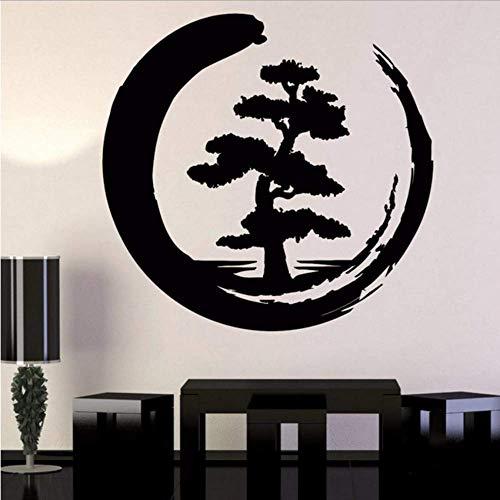 Baum Des Lebens Wandtattoos Spirituelle Baum Dekor Symbole Wandtattoos Für Wohnzimmer Für Yoga Studio Dekor Tapete 59 * 57Cm
