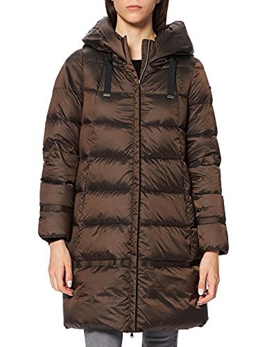 Geox Damen W ADRYA W1426WT2566 Down Coat, Dark Pinecone Brown, 50
