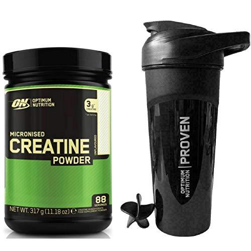 Optimum Nutrition Micronized Creatine - 317g with Shaker…