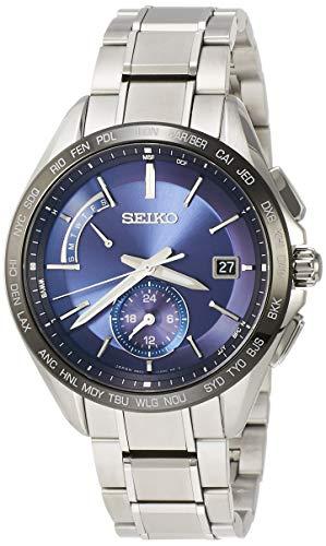 [セイコーウォッチ] 腕時計 ブライツ デュアルタイム表示 SAGA231 シルバー