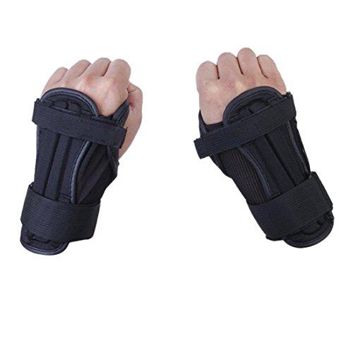 Glield Unisex Ski Snowboard Protektoren Handschuh Handgelenk Unterstützung-1 Paar HXHS02 (M)