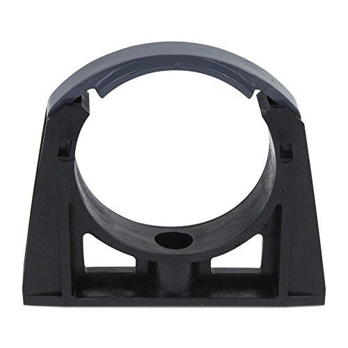 10x PVC Rohrklemme / Rohrschelle Ø 50 mm m. Bügel