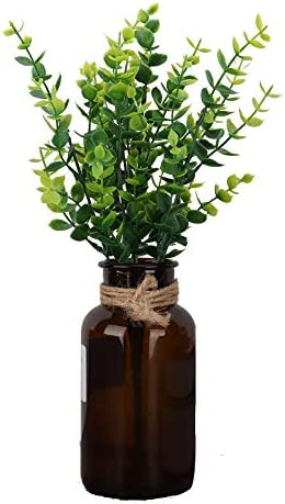 Plastic kunstplant woondecoratie kunstbloemen Kunstplanten voor buiten voor op kantoorLittle Eucalyptus