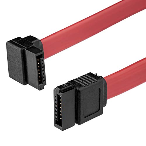 StarTech.com 12in SATA to Right Angle SATA Serial ATA Cable.