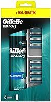 Gillette Mach3 Ostrza wymienne do maszynki do golenia dla mężczyzn, z ostrzami twardszymi niż stal, 8 sztuk + Mach3...