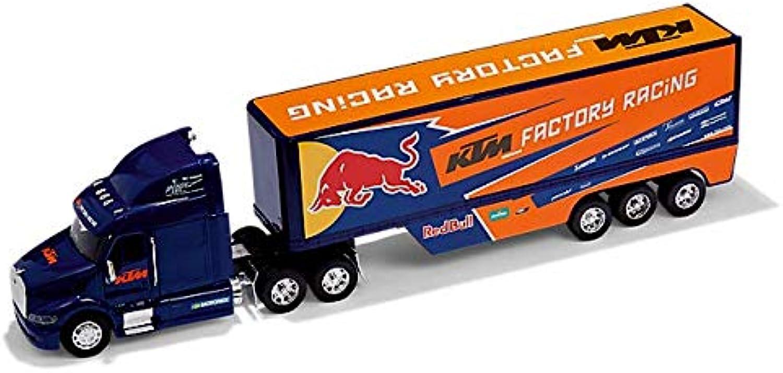 2019 RB K T M Racing MotoGP MX Team Truck Lorry Wagon Diecast Model Scale 1 32