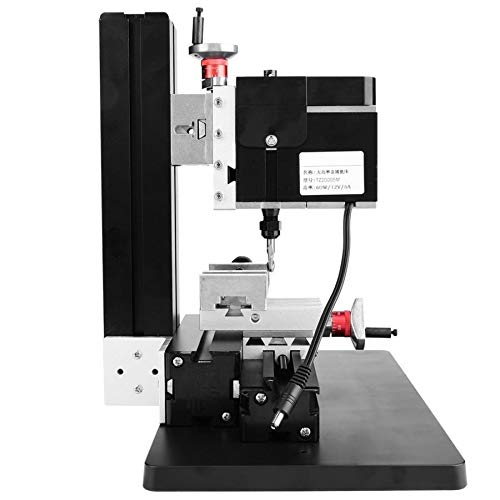 For Sale! 60W 12000RPM Mini Milling Metal Woodworking Wood Lathe DIY Miniature CNC Milling Machine M...