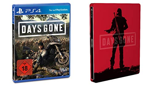 Sony Interactive Entertainment Days Gone - Standard Edition inkl. Steelbook (Exklusiv bei Amazon.de) [PlayStation 4]