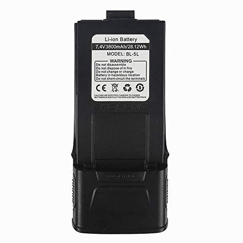Batería de ión de litio Baofeng 3800mAh 7.4V para el walkie talkie Baofeng GT-3 / GT-3TP