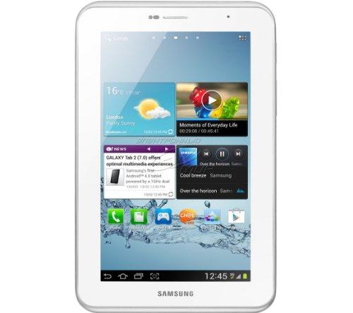 Samsung Galaxy Tab 2 P3100 3G+WIFI Tablet (17,8 cm (7 Zoll) Bildschirm, 1GHz Prozessor, 1GB RAM, 16 GB Speicher, 3,2 Megapixel Kamera, Android) weiß