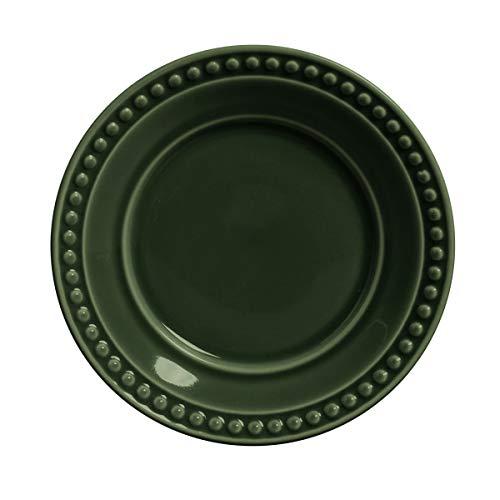 Conjunto c/ 6 Pratos de Sobremesa Atenas Botânico Ø 20,5 cm