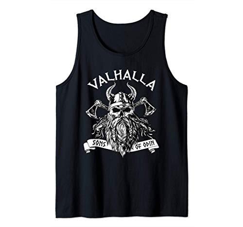 Viking Valhalla Sons Of Odin Norse Nordish Thor Mythology Tank Top