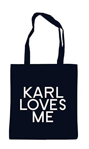 Karl Loves Me Bag Black
