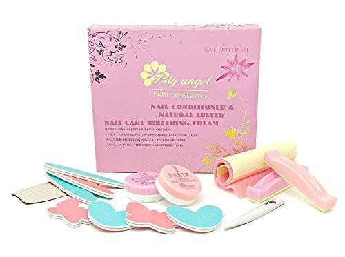 Set per manicure giapponese Lily Shine, kit con pasta e polvere