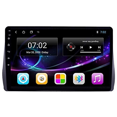 JALAL Autoradio MP5 Player 9 '' HD Touchscreen Bluetooth Autoradio Supporta Telecamera Posteriore/Navigazione GPS / 4G / FM / 1080P Video/Controllo Volante, per Toyota Wish 2009-2012