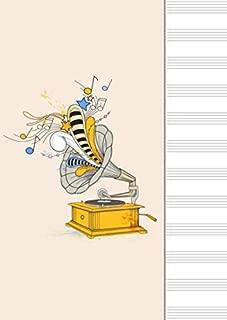 Libreta Pentagrama - Cuaderno de Musica Pentagrama Notaciòn Musical, 100 paginas A4 21 x 29,7 cm (Spanish Edition)