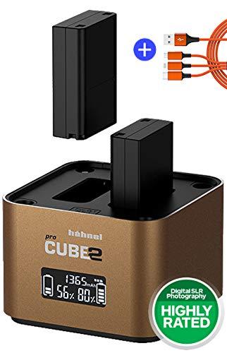 Hähnel ProCube 2 Doppel-Ladegerät für Olympus BLH-1 / BLN-1 / BLS-5 / BLS-50